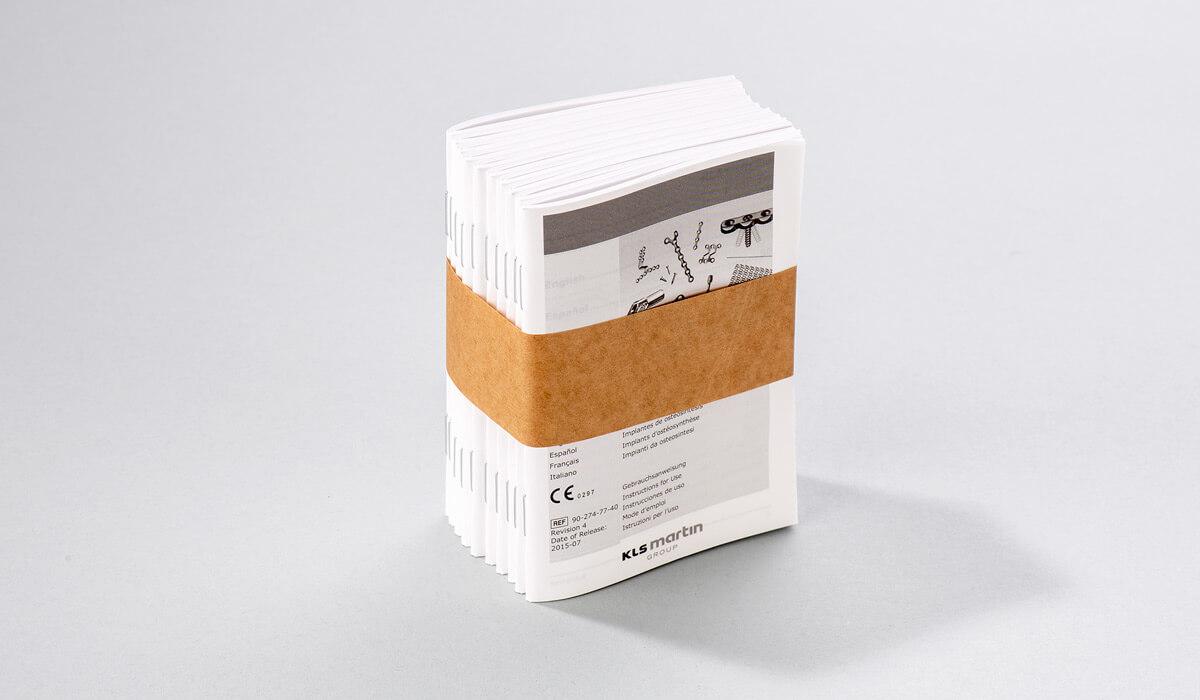 Druckerei Hohl Beipackzettel Booklets