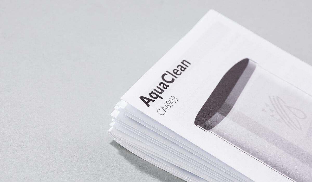 Druckerei Hohl Beipackzettel kombiniert