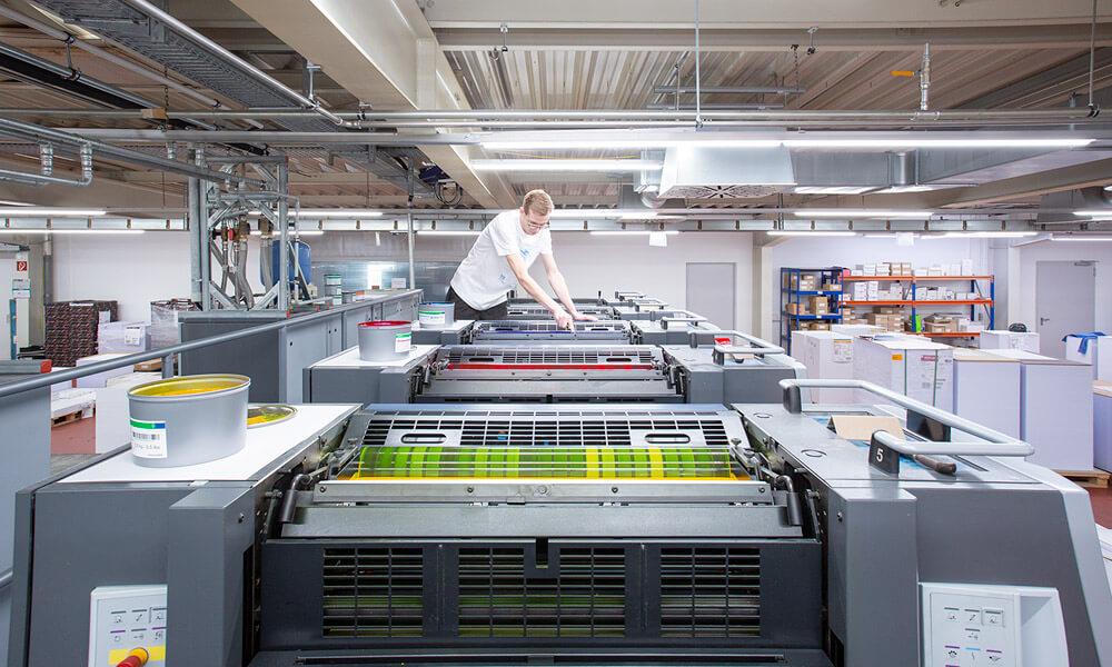 Druckerei Hohl Druckmaschine