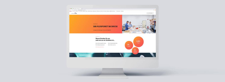 Druckerei Hohl unsere neue Website