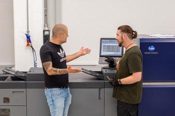 Druckerei Hohl Lagerung und Versand